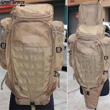 Aisoft Tactical Hunting Extended Full Gear Dual Rifle Gun Bag Case Gun Backpack