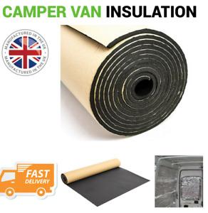 Self Adhesive Thermal Acoustic Foam Insulation for caravan, camper, vans, sheds,