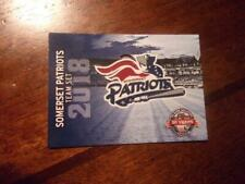 2018 SOMERSET PATRIOTS Single Cards YOU PICK FROM LIST $1- $2 ea OBO