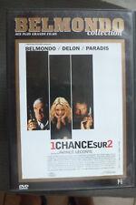 DVD 1 chance sur 2 TBE 1998 jean paul belmondo alain delon