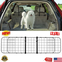 Adjustable Car Pet Dog Cat Barrier Puppy Guard Safety Fence For SUV/ MPV/Vehicle