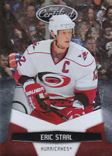 10/11 PANINI CERTIFIED PLATINUM RED #27 ERIC STAAL 991/999 HURRICANES *8146
