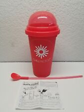 Chill Factor Jumbo Slushy Maker  with Instructions RED