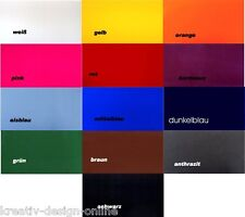 selbstklebende Flockfolie Samtfolie 20cm X 15cm Farbwahl (m²/99,67€)