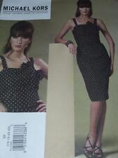 VOGUE #V1176- DESIGNER MICHAEL KORS - LADIES PRETTY SUMMER DRESS PATTERN 16-22FF
