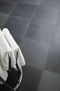 Sample of Vesuvio Honed Grey Basalt Stone Floor Tiles Flooring