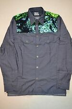 Paul Smith MAINLINE Cowboy Cut Chambray Sequin  Shirt M NEW
