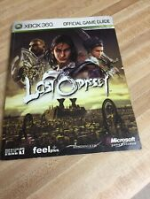 Lost Odessy Xbox 360 Official Game Guide, Good Condition