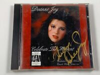 Signed/Autographed Deanne Foy CD : Celebrate The Moment