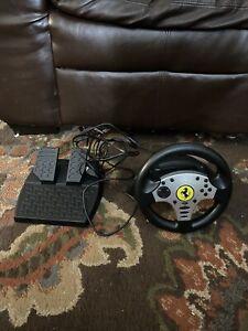 Thrustmaster Ferrari Challenge Black Racing Wheel For PS3