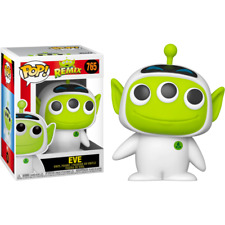 Pixar Funko Pop 765 Remix Alien Eve Figure 9 Cm Disney Film Wall-e Woody