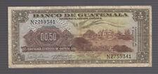 1964 GUATEMALA 1/2 QUETZAL