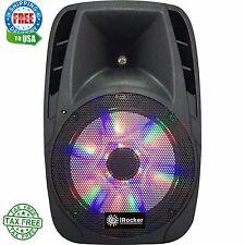 iRocker Pa-1000 Portable Powered Loud Speaker Karaoke Ps System With Bluetooth