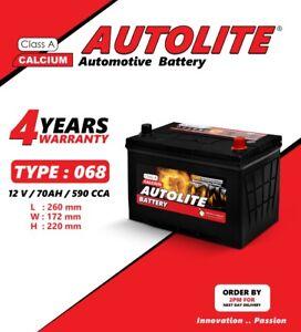 Car Battery type 068 030 071 12V Heavy Duty fits many TOYOTA LAND COVE MITSUBISH