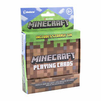 Minecraft Playing Cards Includes Collectors Embossed Storage Tin Ideal for Games