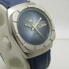 Vintage Seiko 5 Automatic Men's Watch 7019-7370 Day/Date