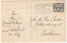 Netherlands: Postcard, Regeringsgebouwen; 's-Gravenhage to Eindhoven, 17 Ja 1943