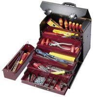 Parat 44.500.581 Rollen Rindleder Werkzeuge 5x Schubladen Werkzeugtasche Tasche