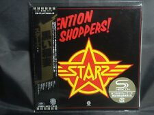 STARZ Attention Shoppers ! + 2 JAPAN Mini LP SHM CD 3rd 1978 UICY-77825 Kiss