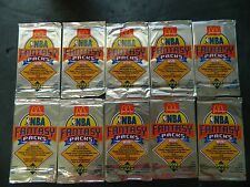 1992 UPPER DECK MCDONALDS FANTASY PACKS NBA TRADING CARDS 10 PACKS