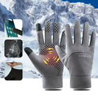 Winter Thermo Handschuhe Fahrrad Handschuhe Wasserdicht Touchscreen Herren Damen