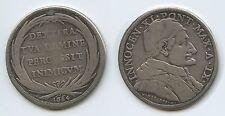 GB1156 Vatikan 1 Piastra (Scudo of 80 Bolognini) 1684-IX Silber RAR Innocent XI.