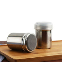Stainless Steel Chocolate Shaker Icing Sugar Cocoa Flour Coffee Sifter H as
