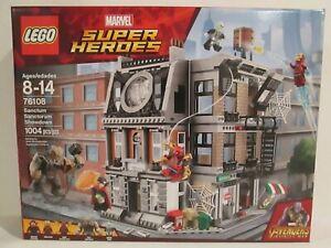 Lego Marvel Super Heroes set 76108 Sanctum Sanctorum Showdown * BRAND NEW! *