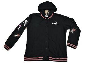 Tim Burton's Nightmare Before Christmas Juniors Hooded Jacket New XS, S, M, 2XL