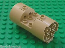 Lego Star Wars Tan Cylinder 3x6x2 2/3 ref 30360 / set 7155 Trade Federation AAT