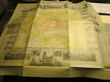 Frankfurt Archiv Edition 41048 Illustrierter Generalplan 1867 Ravenstein Faksimi