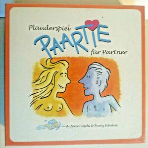 Paartie, ein Plauderspiel für Paare neu