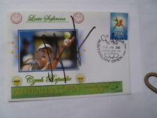 CZECH TENNIS STAR  LUCIE SAFAROVA HAND SIGNED 2006 AUS OPEN COVER