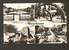 MONTLUCON (03) CASERNE RICHEMONT , PARC , CHATEAU ,Avenue Marx-Dormoy en 1962