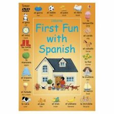 FIRST FUN WITH SPANISH  dvd SEALED/NEW Learn How to Speak the Spanish Language