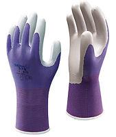 Showa 370 FLOREO Unisex Lightweight Gardening Gloves Nitrile Palm - All Colours