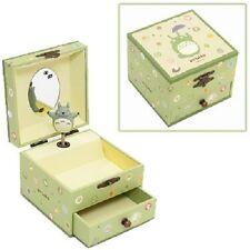 NEW My Neighbor Totoro paper MUSIC JEWELRY BOX Studio Ghibli Miyazaki Hayao F/S