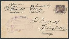 #571 ON LZ127 1ST FLT AIRMAIL COVER 10-28-1928 LAKEHURST, NJ TO GERMANY BR3366