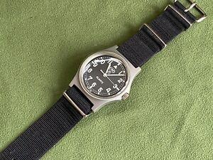CWC Vintage British Military G10 Quartz Watch Tritium Dial (1989 Issued) Swiss