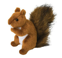 ROADIE the Plush RED SQUIRREL Stuffed Animal - by Douglas Cuddle Toys - #3793