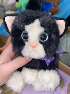 VINTAGE 1992 Tyco Kitty Kitty Kittens Black & White Face Plush Midnight Rare