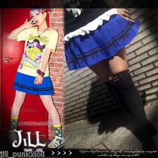 japan street punk KERA bleeding blood casual pleated uniform skirt 81612 BU
