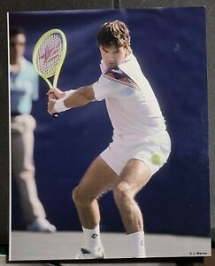 JIMMY CONNORS PRO TENNIS STAR 8X10 GLOSSY PHOTO