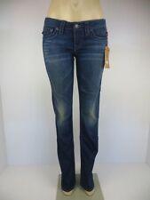 NWT True Religion Julie Skinny Super T, del Mar, Größe 28, Retail $319