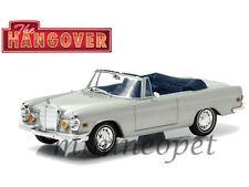 GREENLIGHT 86461 HANDOVER 1969 MERCEDES BENZ 280 SE CONVERTIBLE 1/43 SILVER
