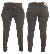 Pantalones para mujeres color principal negro con kevlar para motoristas