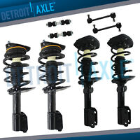 Front & Rear Complete Strut Assembly Sway Bar Links 1997 - 2005 Buick Century