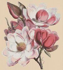 Flores Cuadro De Punto De Cruz Flores 174-flowerpower 37-UK -... Gratis Reino Unido P&p..