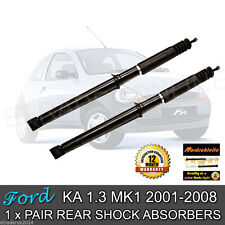 Ford Ka Rear Shock Absorbers 2002 2003 2004 2005 2006 Shockers Dampers Shocks X2