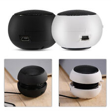 Portable Mini 3.5mm Jack Hamburger Sound Loud Speaker For Phones Tablet PC Music